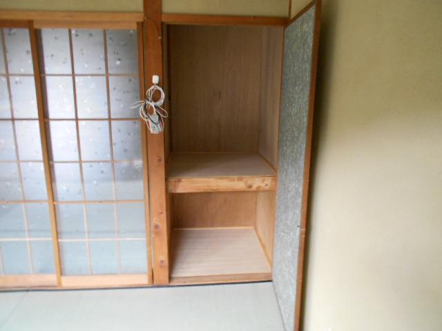 緒川荘 201号室の収納