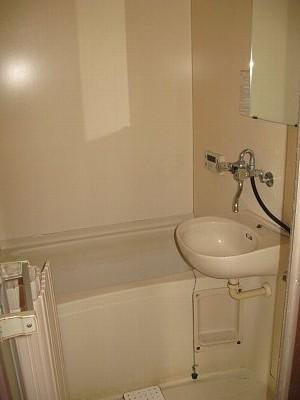 サンハイム加住 203号室の洗面所