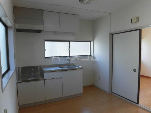 西山ハイツ 101号室のキッチン