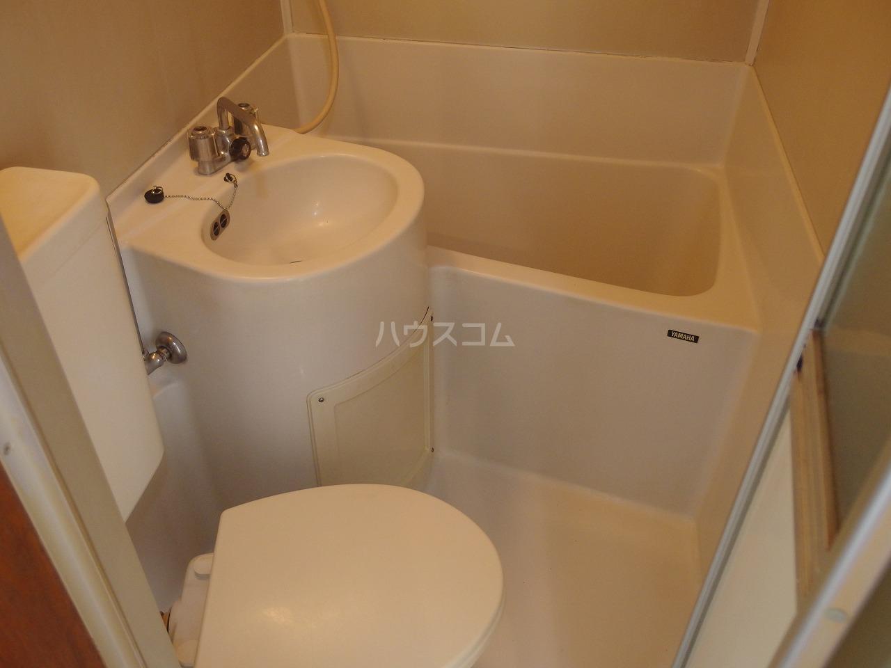 ヴィラ桜ヶ丘 102号室の風呂
