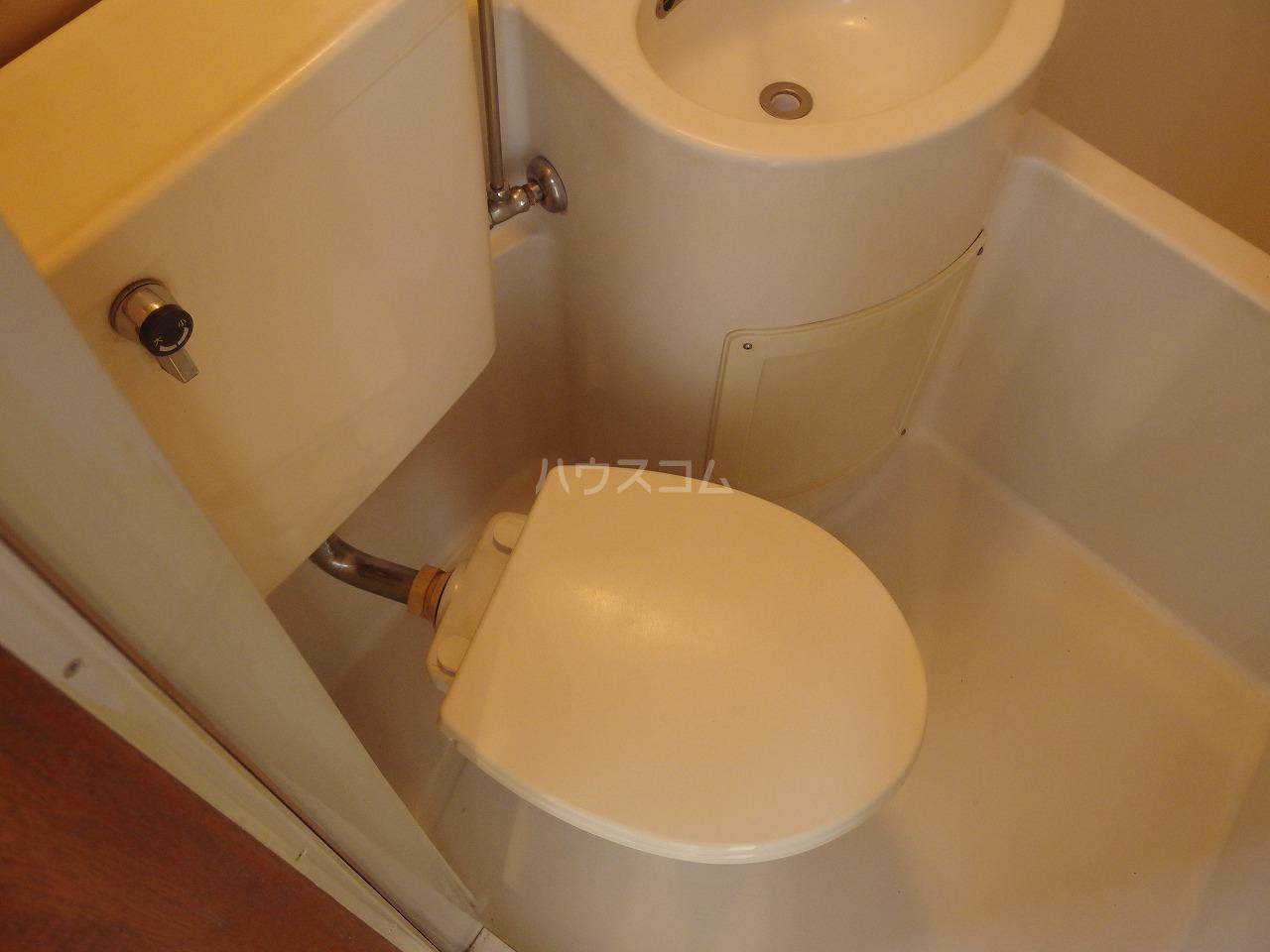 ヴィラ桜ヶ丘 102号室のトイレ