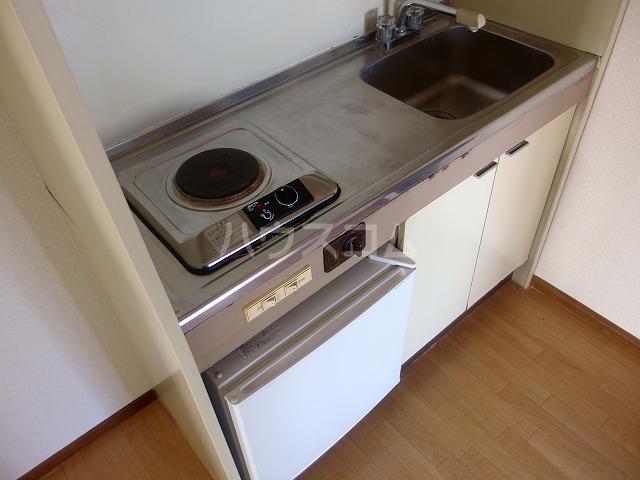 ヴィラ桜ヶ丘 103号室のキッチン