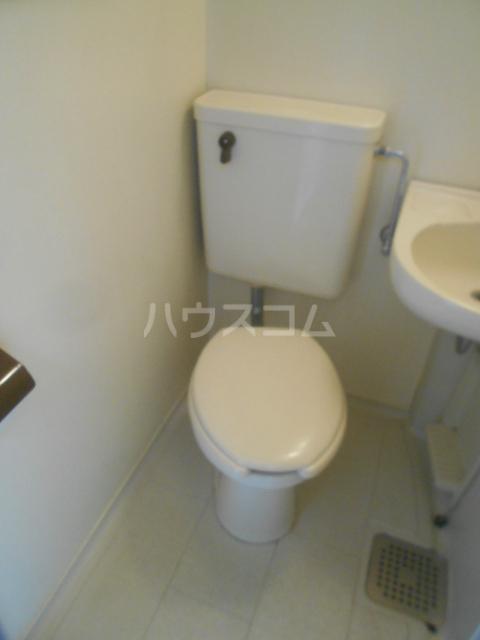ビアメゾン高幡不動 301号室のトイレ
