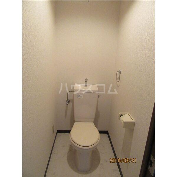 ブランメゾン辻本通 4A号室のトイレ