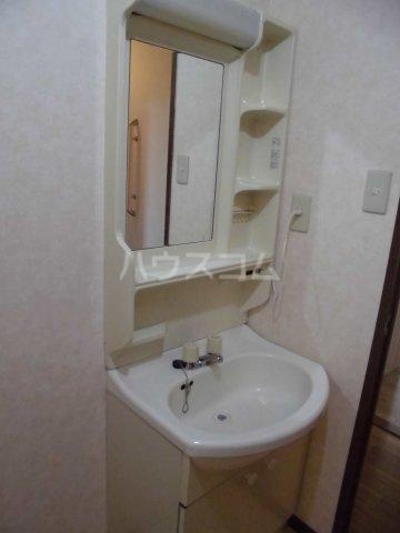リンピア中道 203号室の洗面所