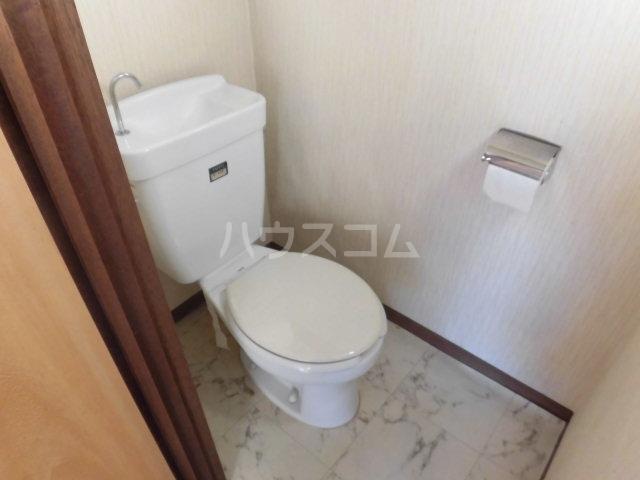 緑荘 201号室のトイレ