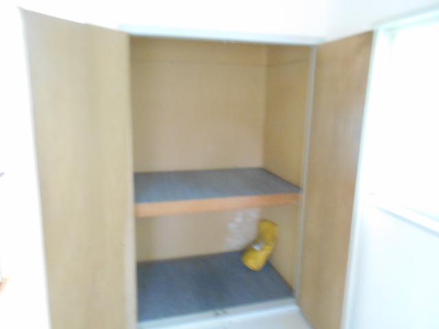 セフィール程久保 107号室の収納