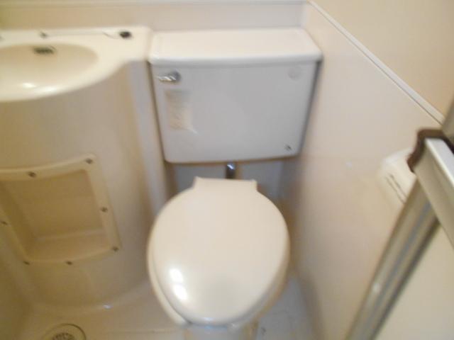 セフィール程久保 107号室のトイレ