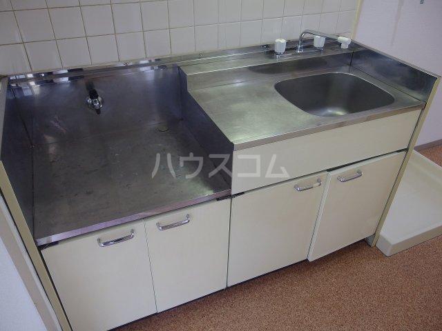 佐竹ハイツ 202号室のキッチン