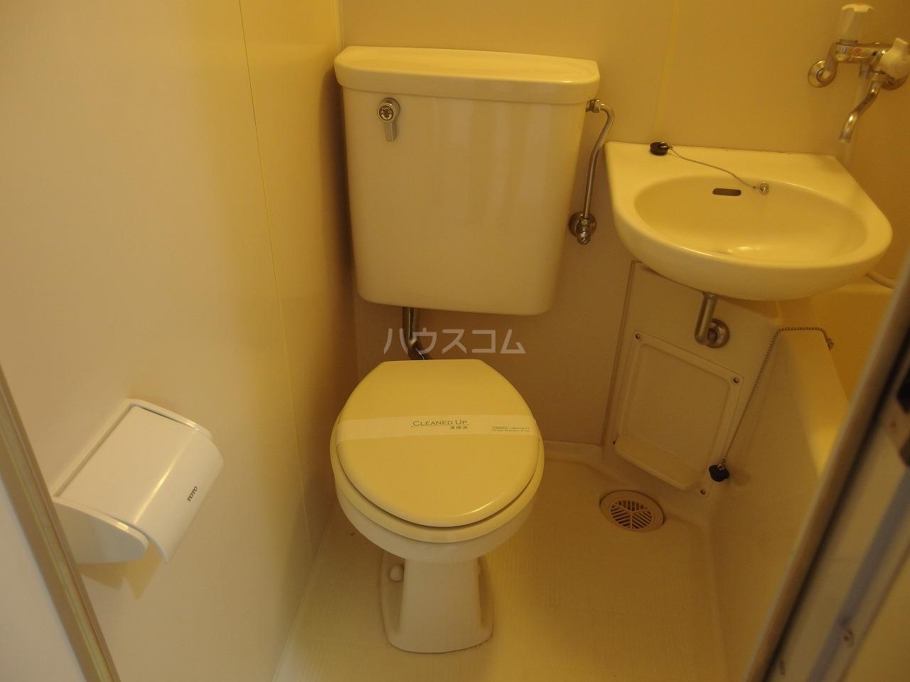 佐竹ハイツ 202号室のトイレ