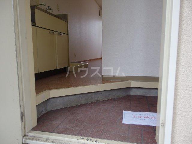 佐竹ハイツ 202号室の玄関