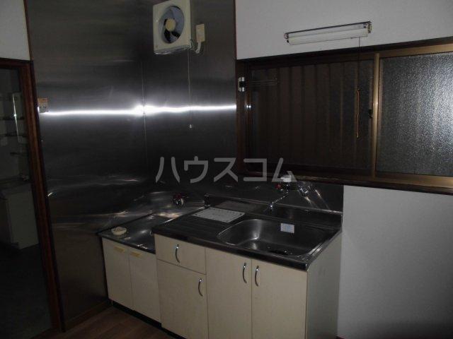 福田借家のキッチン