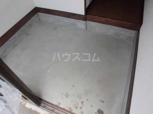 福田借家の玄関