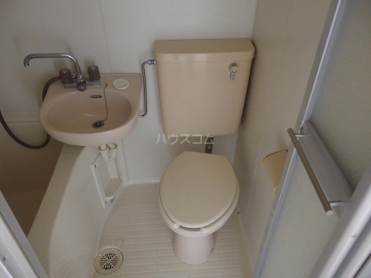 ヴィラ桜ヶ丘 205号室のトイレ