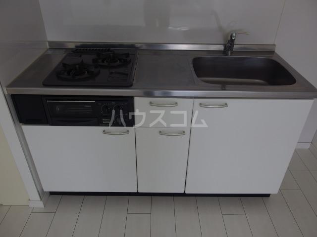 SOLID聖蹟桜ヶ丘弐番館 102号室のキッチン