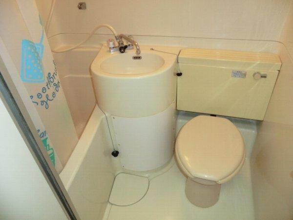 パークサイドハイツ 101号室の洗面所