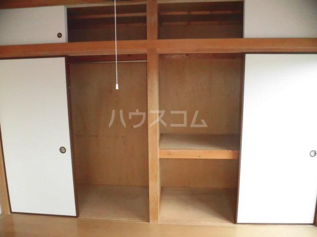 ヴェルデ散田 201号室の収納