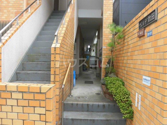 ヴェルデ散田 201号室の玄関