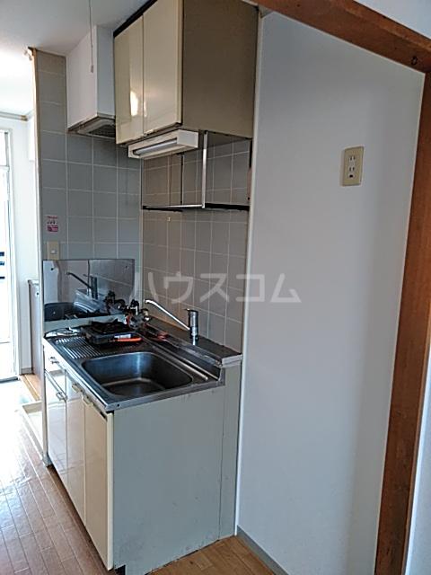 エントピアKT 203号室のキッチン