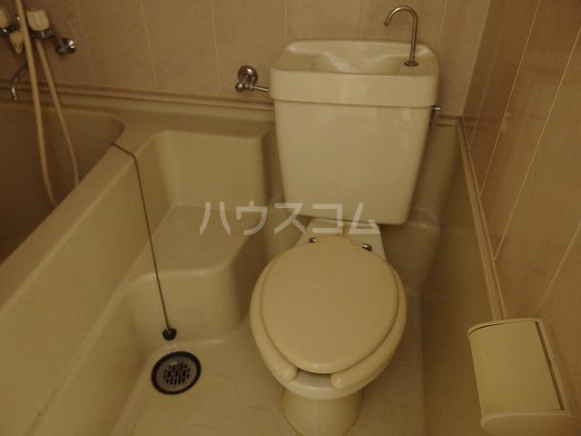 コーポ有賀 204号室のトイレ