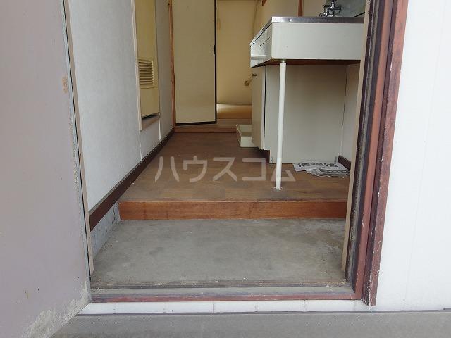 コーポ有賀 204号室の玄関