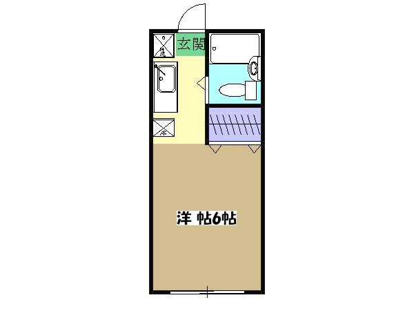第3宮田ビル・205号室の間取り