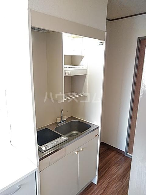 コーポソシア 2D号室のキッチン