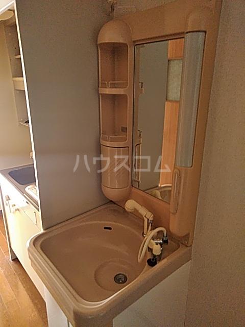 コーポソシア 2D号室の洗面所