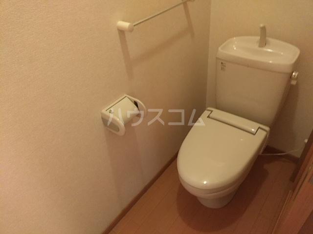 ミッテフリーデⅢ 101号室のトイレ