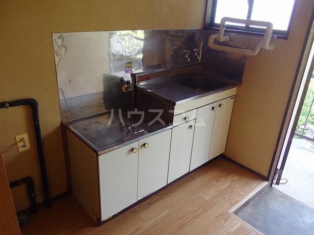宮本荘 55号室のキッチン