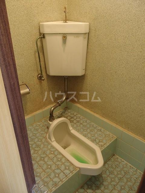 宮本荘 55号室のトイレ