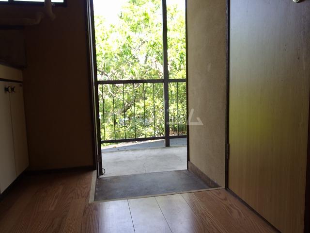 宮本荘 55号室の玄関