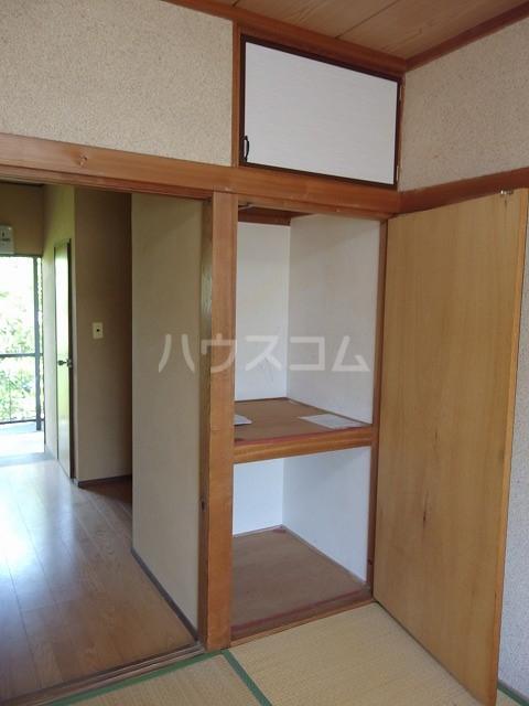 宮本荘 55号室の収納