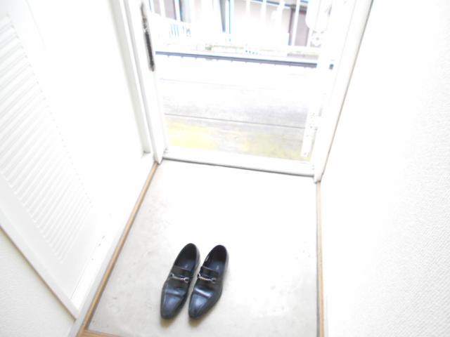 ライフタウン高幡 202号室の玄関