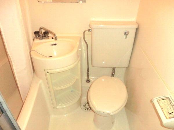 ハウスオブパレ 305号室のトイレ