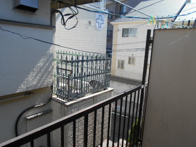 ヴィラ永山 203号室の景色