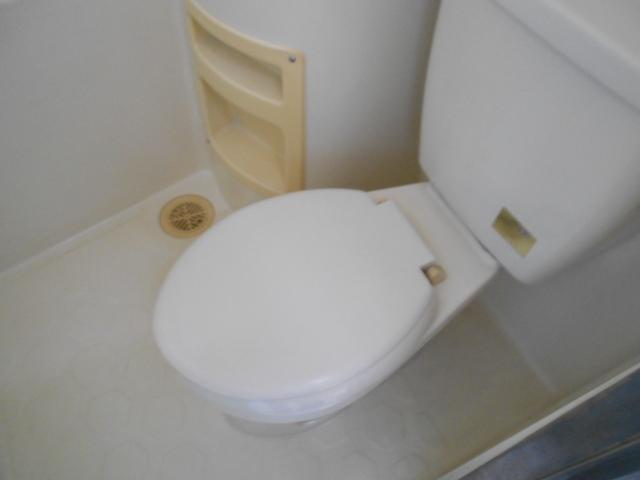 ヴィラ永山 203号室のトイレ