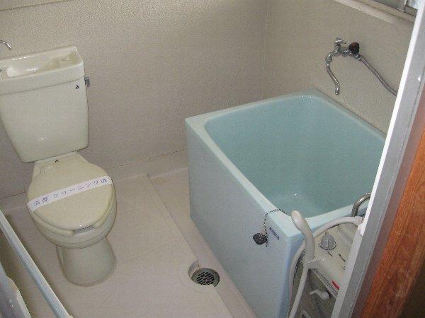 第1コーポ山路 203号室のトイレ