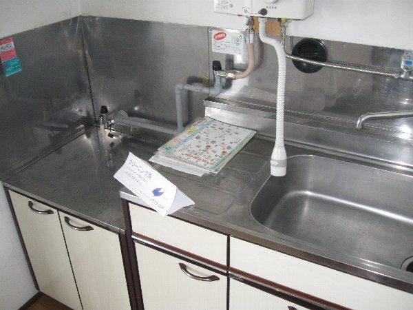 第1コーポ山路 203号室の洗面所