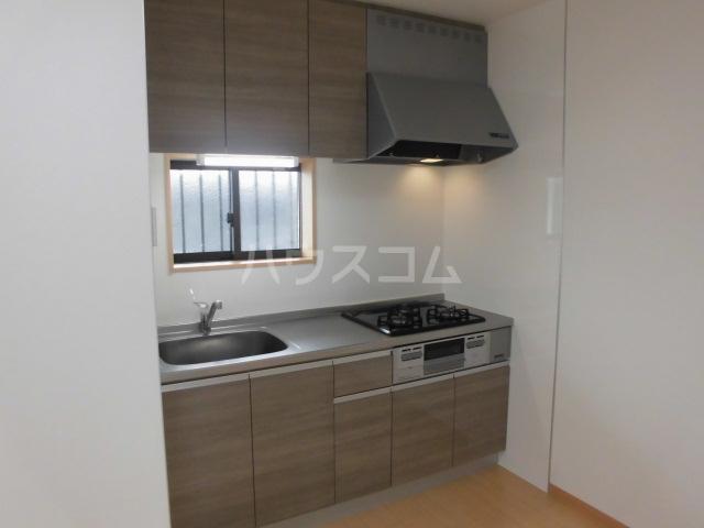 ソレーユ6 203号室のキッチン