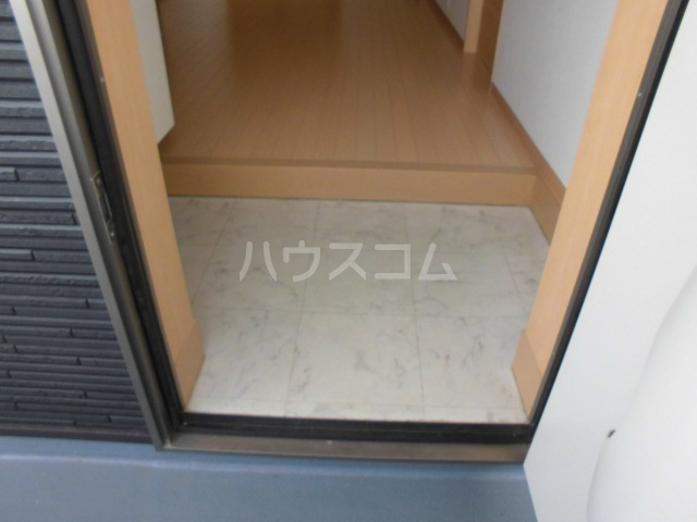 ソレーユ6 203号室の玄関