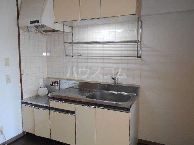 第3サンヨーマンション 603号室のキッチン