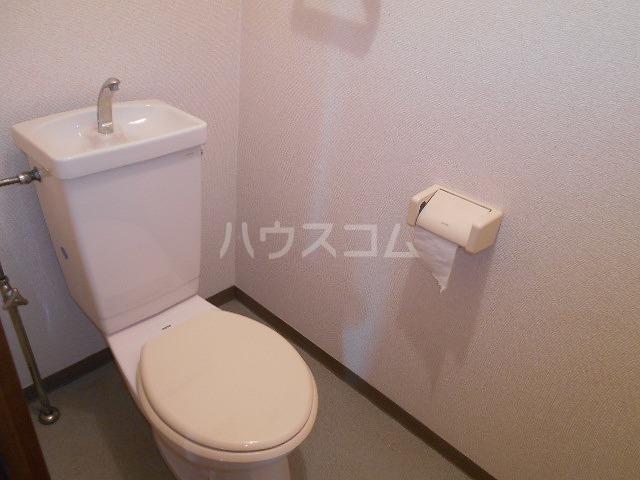 第3サンヨーマンション 603号室のトイレ
