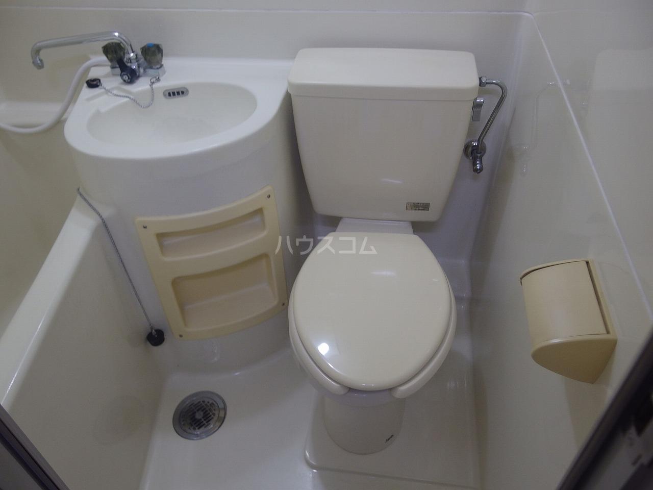 ハイツサンエーム 113号室のトイレ