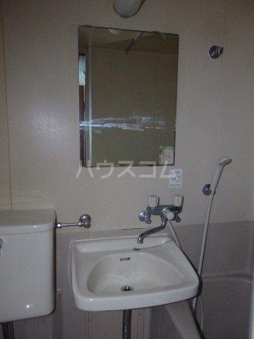 南平コーポ 202号室の洗面所