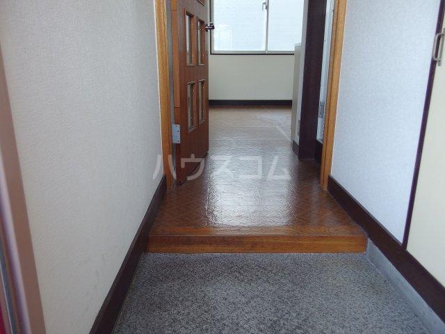 南平コーポ 202号室の玄関
