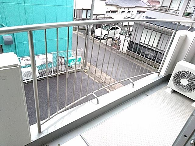ロイヤルハウス喜多山 302号室のバルコニー