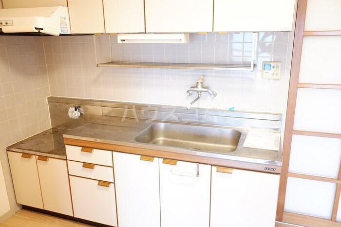 ロイヤルハウス喜多山 302号室のキッチン