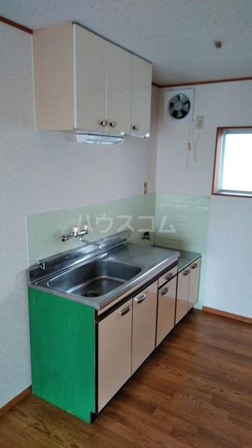 ハウステラサイド 208号室のキッチン
