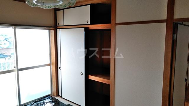 ハウステラサイド 208号室の収納